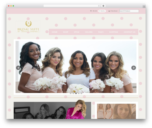 Theme WordPress Mystile - bridalsuitechic.com