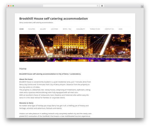 Twenty Twelve WordPress theme free download - brookhillhouse.co.uk