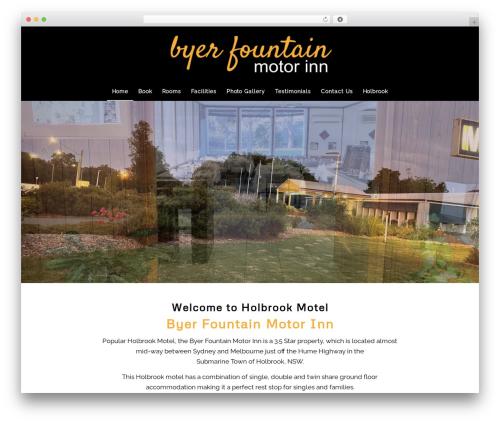WordPress template Enfold - byerfountainmotorinn.com.au