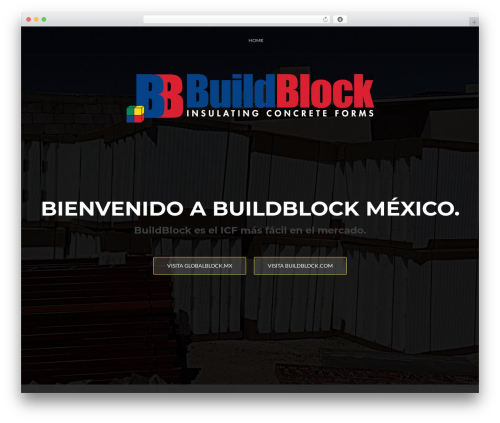 WordPress theme ResponsiveBoat - buildblock.mx