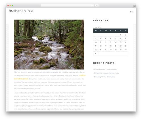 Worker top WordPress theme - buchanan-inks.org