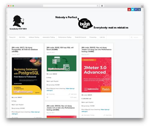 Accord - Responsive WordPress Blog Theme WordPress blog template - bughunter.asia