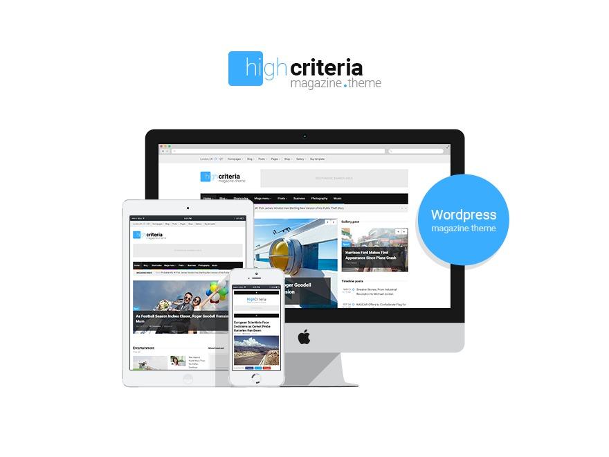 HighCriteria Premium Theme theme WordPress