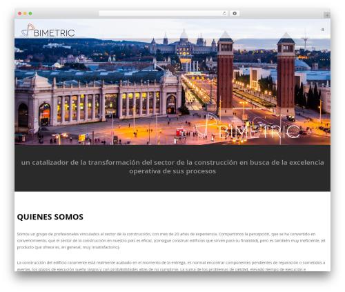 WordPress Slider Revolution plugin - bimetriclab.es