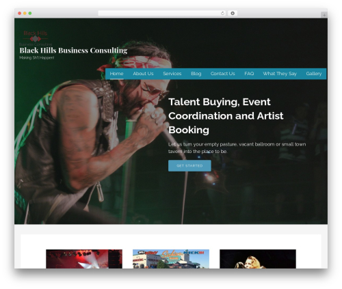 Lyrical WP theme - blackhillsbusinessconsulting.com