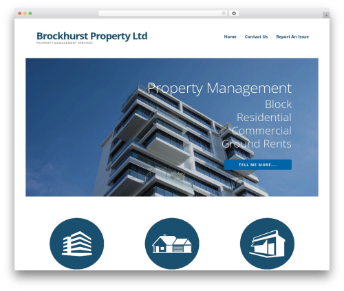 Theme WordPress Ascension - brockhurstproperty.co.uk