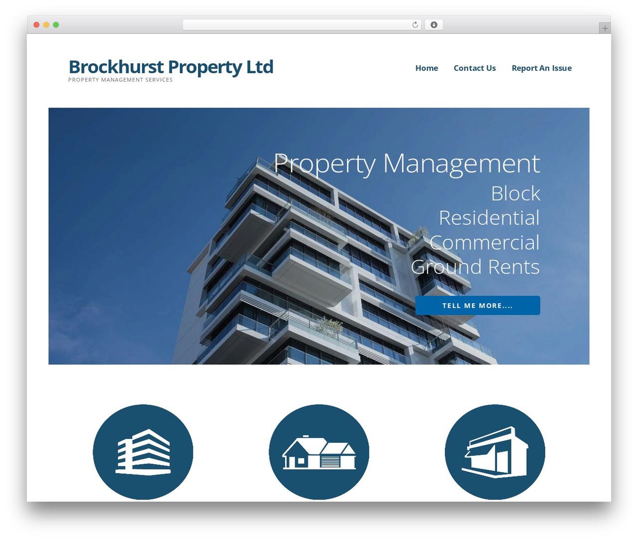 Theme WordPress Ascension - brockhurstproperty.co.uk
