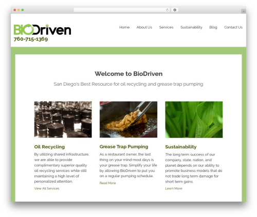 Theme WordPress Lyrical - biodrivenservice.com