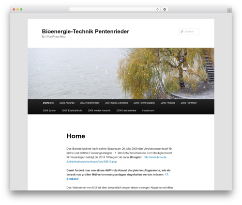 Twenty Eleven WordPress template free download - bioenergie-technik.net