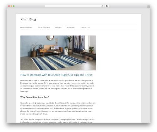Free WordPress WP Simple Galleries plugin - blog.kilim.com