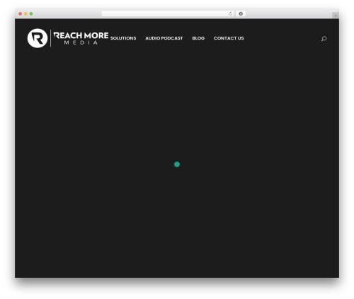 WordPress theme Bridge - reachmore.media