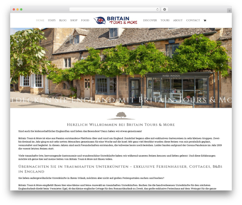 Free WordPress GDPR Cookie Consent plugin - britain-tours.de