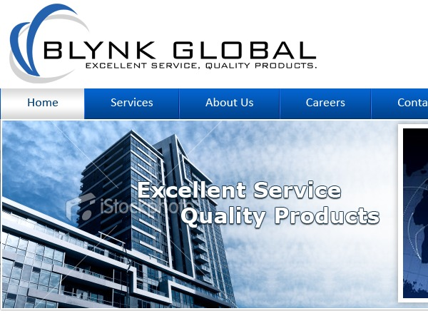 blynk_global WordPress page template