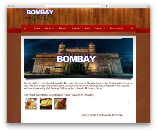 Bordeaux Premium Theme WordPress theme - bombaygrilltx.com