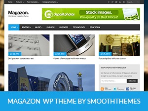 Magazon-e1 WordPress magazine theme