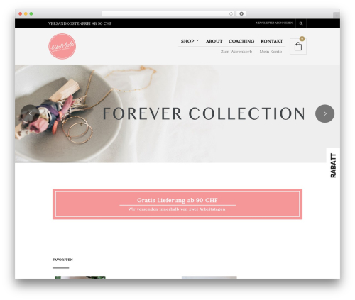 The Retailer WordPress ecommerce theme - bits-and-bobs.ch