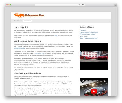 Theme WordPress Meeta - brlarssonsbil.se