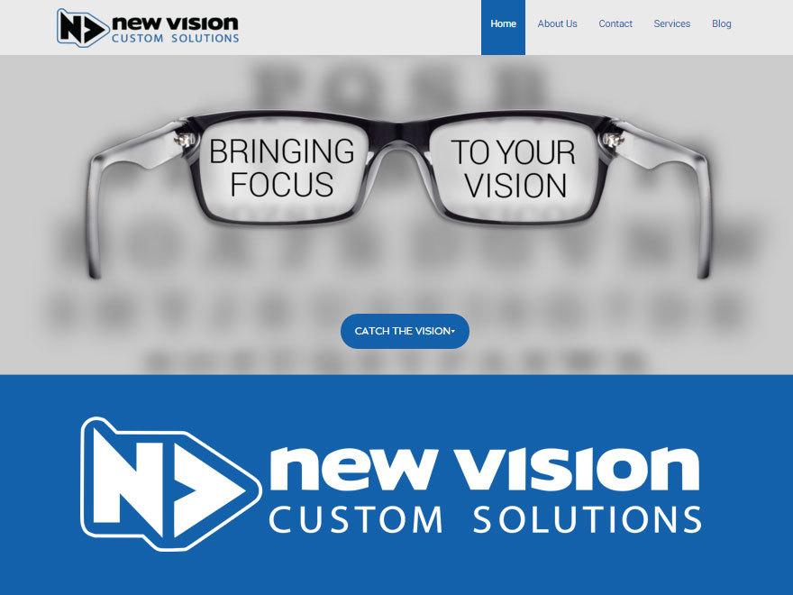 Theme WordPress New Vision Custom