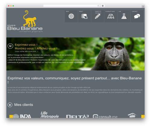 Theme WordPress OneTouch Revision 2 - bleu-banane.fr