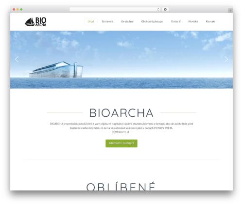 Theme WordPress X - bioarcha.cz