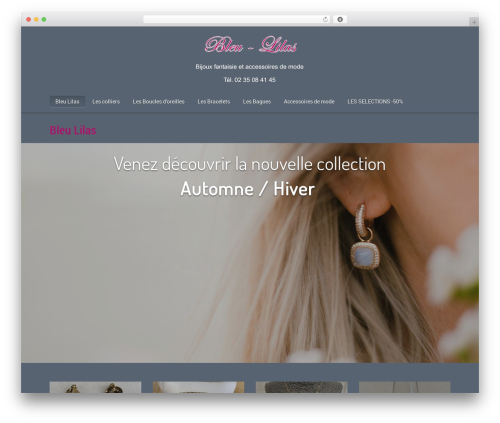 WordPress theme Souffle - bleu-lilas.com