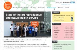 Burrell Street Base Theme WordPress page template