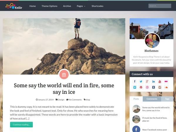 Keilir by Bluthemes WordPress theme