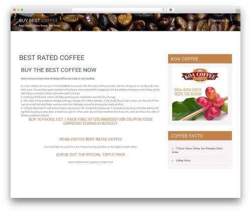 SKT Coffee WordPress theme free download - buybestcoffee.com