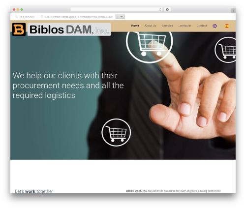 Template WordPress Trade - biblosdam.com