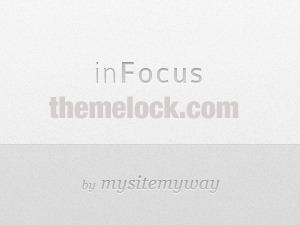 WordPress website template inFocus
