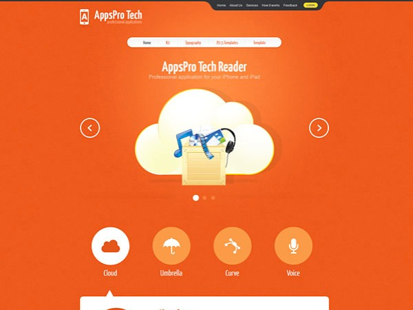 AppsProTech WordPress blog template