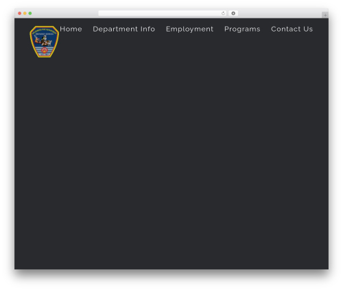 Avada WordPress theme - fire.goldsboronc.gov