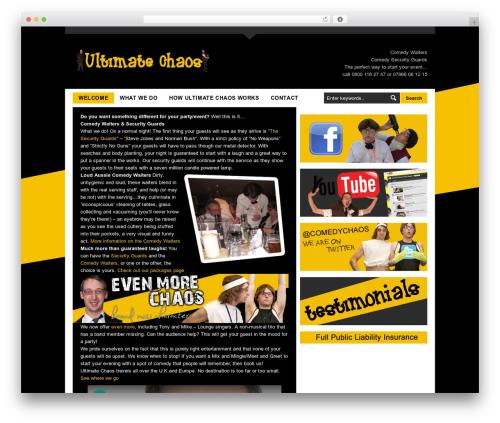Best WordPress theme LondonCreative+ v4.3 - ultimatechaos.info