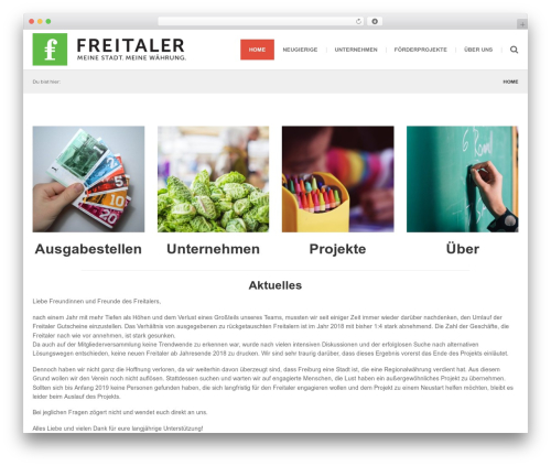 () Bouncy WP theme - freitaler.com