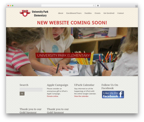 Carry Hill 1.2 WordPress theme - uparkelementary.org