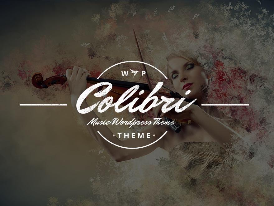 Colibri top WordPress theme