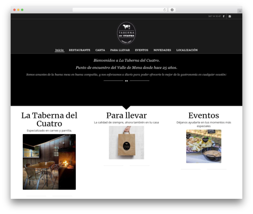 Enfold (share on themelot.net) WordPress theme - tabernadelcuatro.es