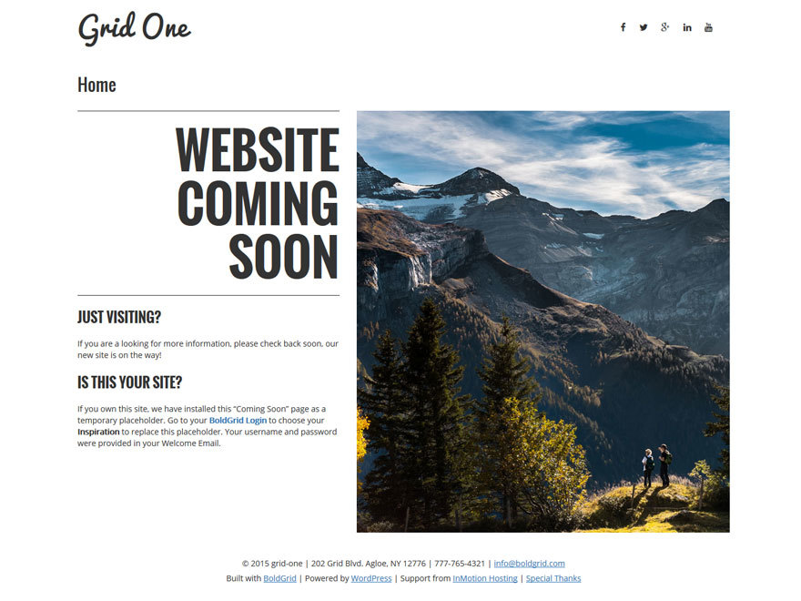 Grid One best WordPress theme