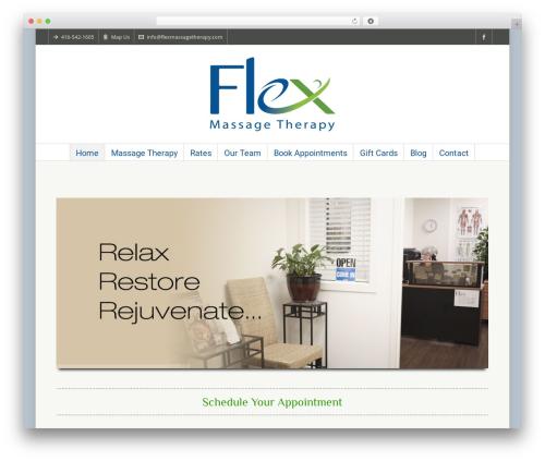 Highend WP template - flexmassagetherapy.com