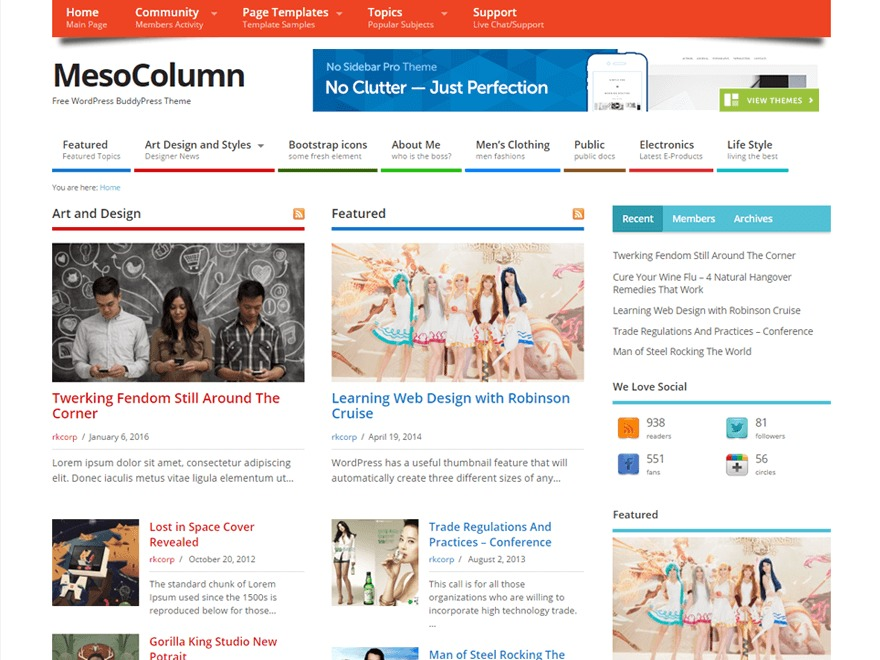 Multi VicomStudio WordPress shop theme