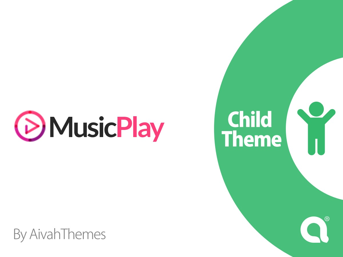 MusicPlay child premium WordPress theme