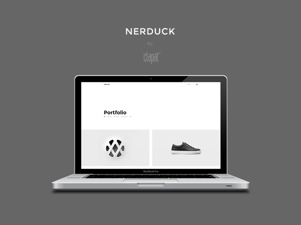 Nerduck WordPress theme