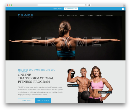 Outeredge fitness WordPress theme - forms.bodybyframe.com