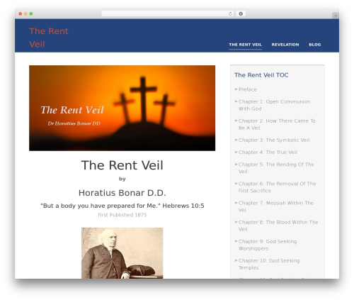 Rise top WordPress theme - therentveil.com