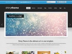 Shiny Theme WordPress theme