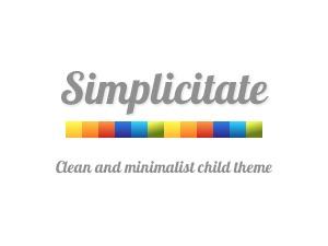 Simplicitate premium WordPress theme