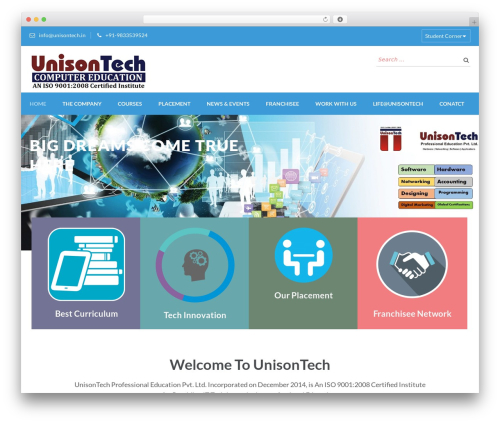 Free WordPress Student Result or Employee Database plugin - unisontech.in