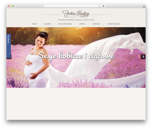 Theme WordPress SKT Girlie Lite - foto.fotokadry.com