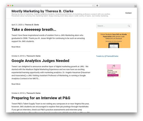 Free WordPress googleCards plugin - theresabclarke.com