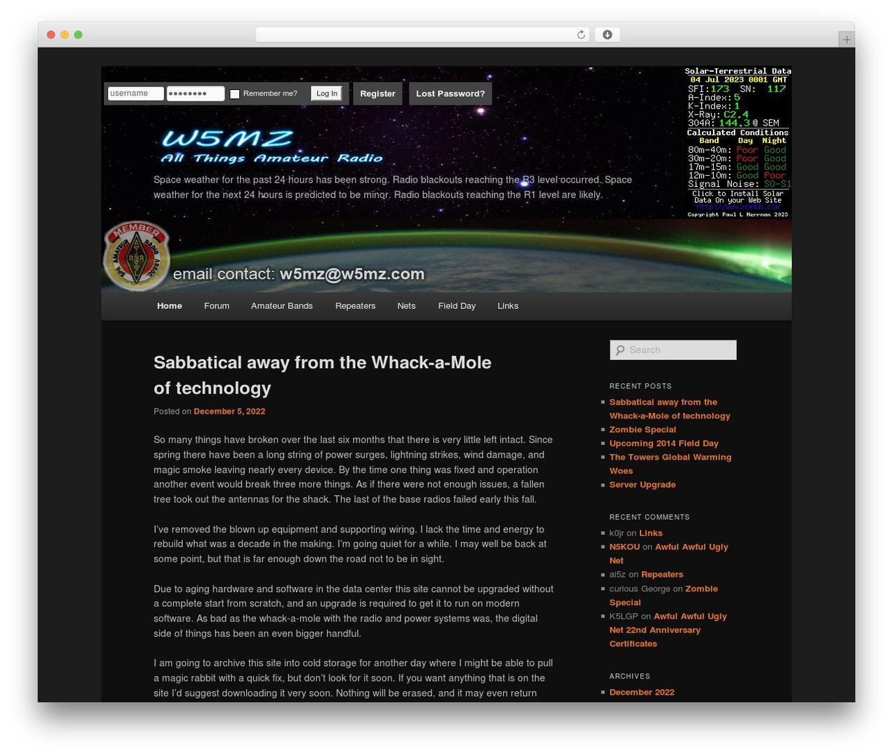 Twenty Eleven theme WordPress free - w5mz.com